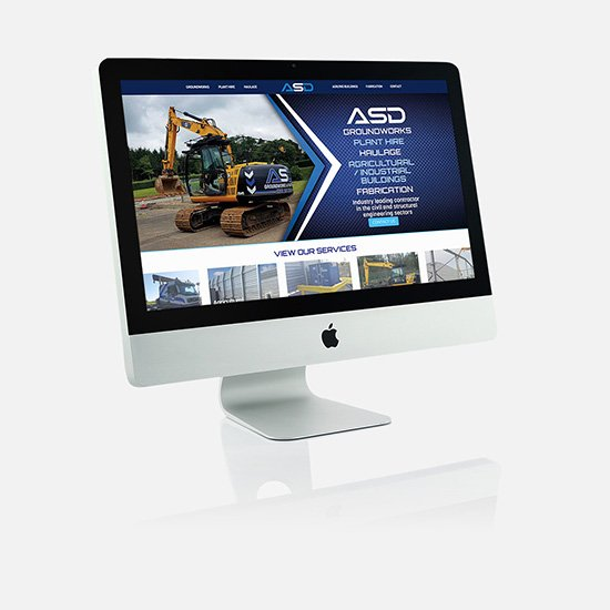 Cammy Graphic Design ASD website