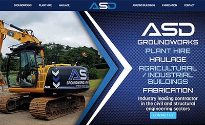 Cammy Graphic Design ASD groundworks website
