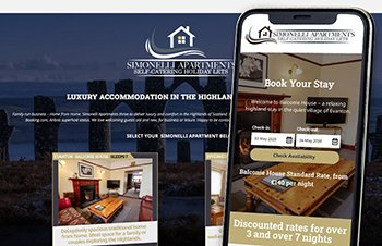 Cammy Graphic Design Simonelli apartments website
